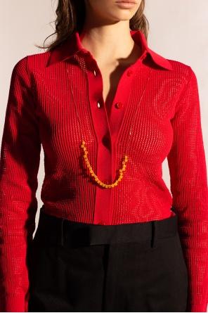 Embellished necklace od Bottega Veneta