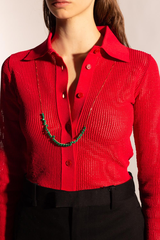Bottega Veneta Embellished necklace