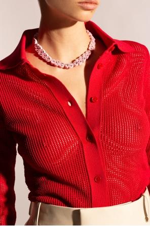 Embellished choker od Bottega Veneta