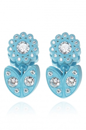 Embellished earrings od Bottega Veneta