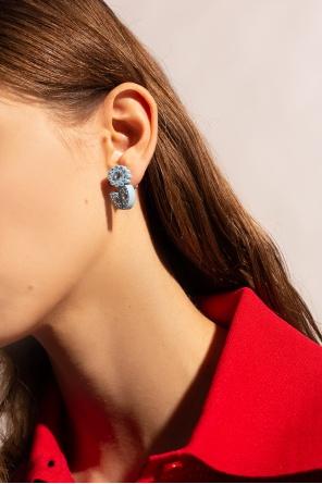 Embellished earrings od Bottega Veneta
