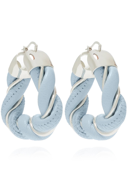 Bottega Veneta Silver-tone earrings