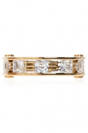 Gold-plated ring od Bottega Veneta
