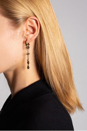 Drop earrings od Alexander McQueen