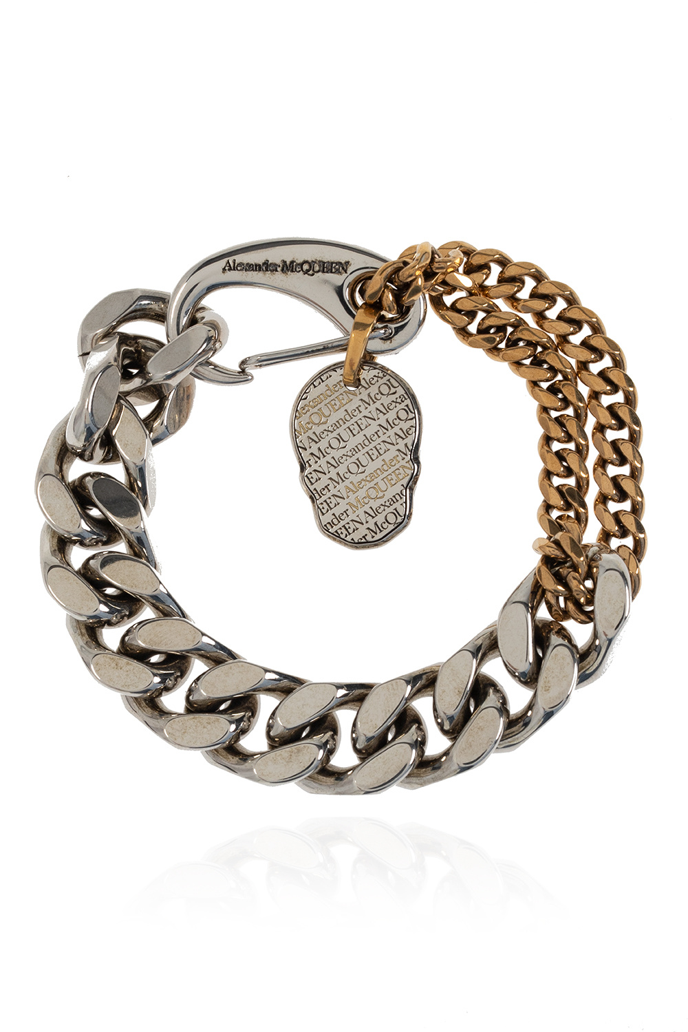 Alexander McQueen Chain necklace with lobster clasp