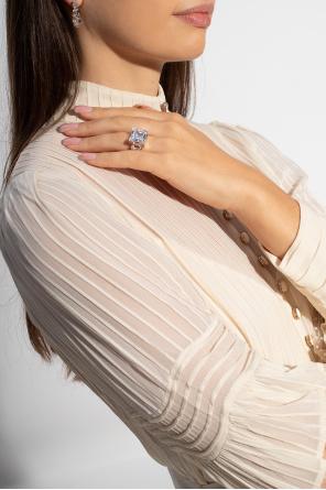 Glass earrings od Bottega Veneta