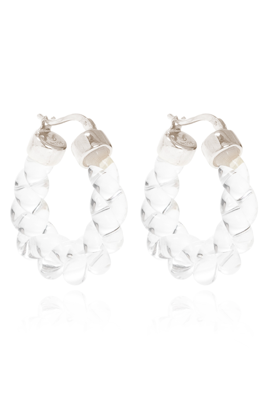 Bottega Veneta Glass earrings