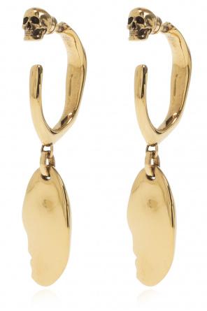 Earrings with logo od Alexander McQueen