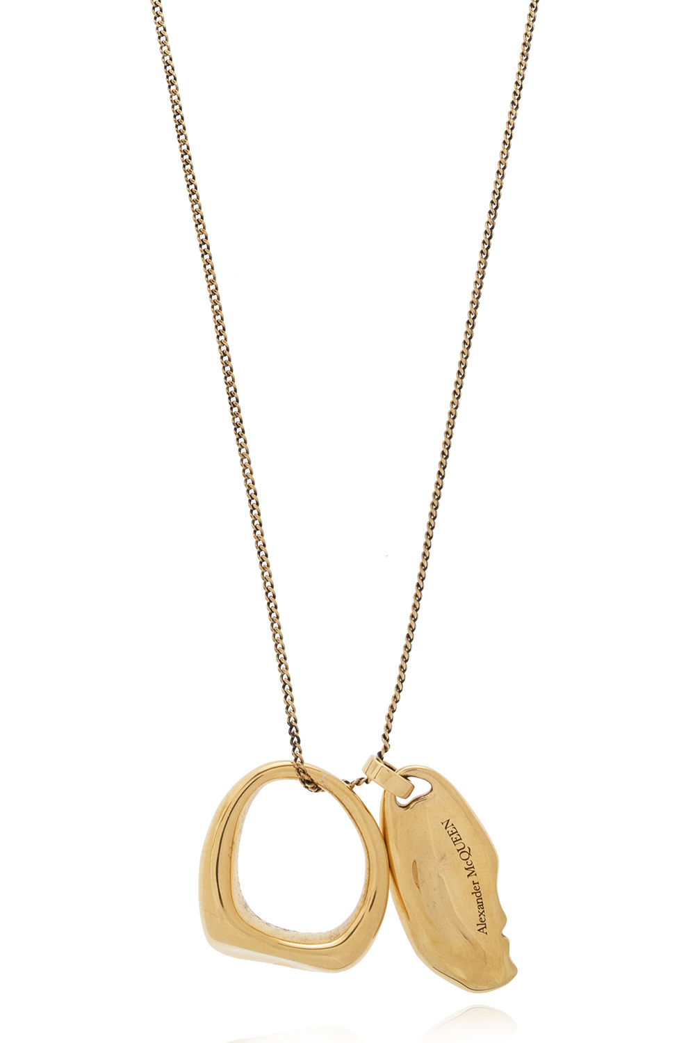 Alexander McQueen Necklace with charms
