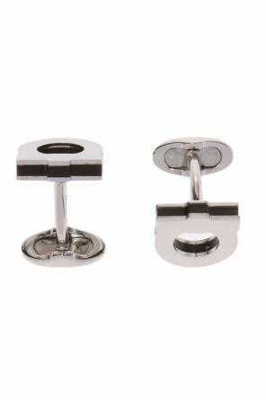 Logo cuff links od Salvatore Ferragamo