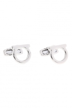 Brass cufflinks od Salvatore Ferragamo