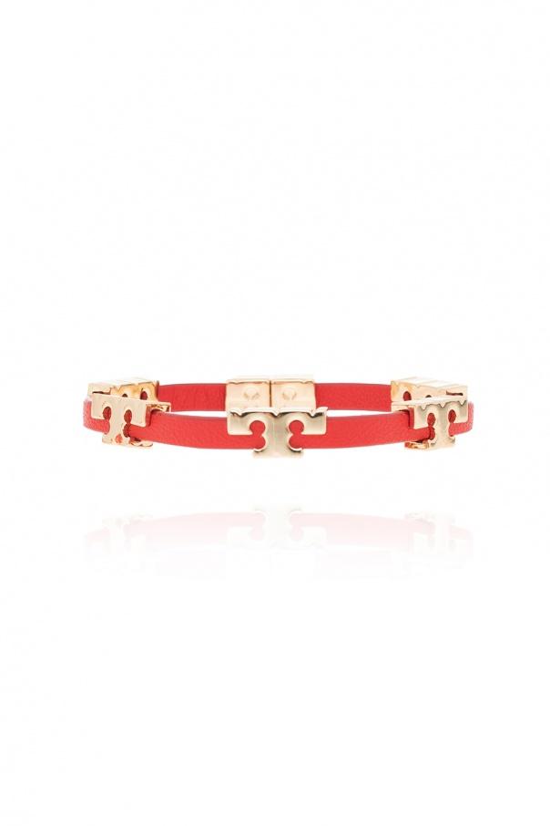 Tory Burch 'Serif-T' leather bracelet