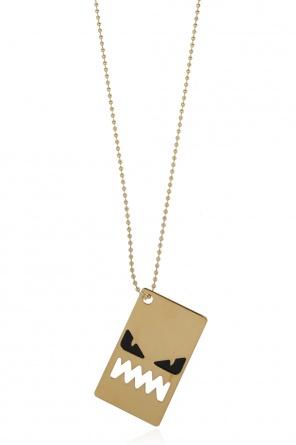Charm necklace od Fendi