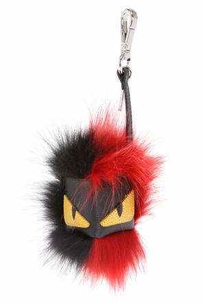 Fox fur key ring od Fendi