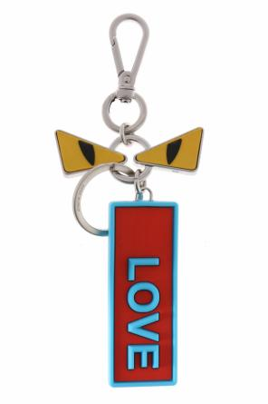 Eyes motif key ring od Fendi