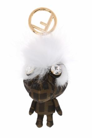 'space monkey' keyring od Fendi