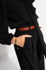 Tory Burch 'Kira' leather bracelet with logo