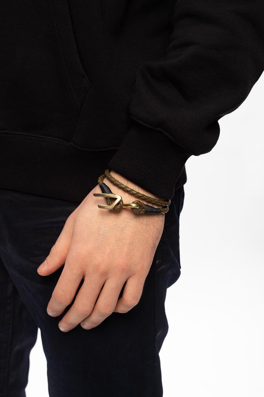 Diesel 'A-Bruny' woven bracelet