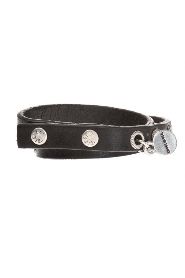 Double bracelet with rivets od Diesel