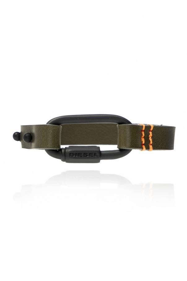 Diesel Branded leather bracelet