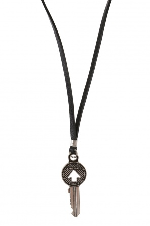 Necklace with key charm od Diesel