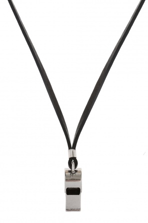 Necklace with whistle charm od Diesel