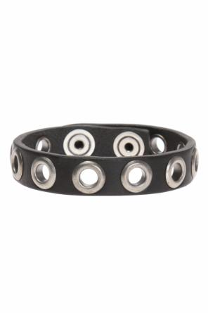 Bracelet with metal rivets od Diesel