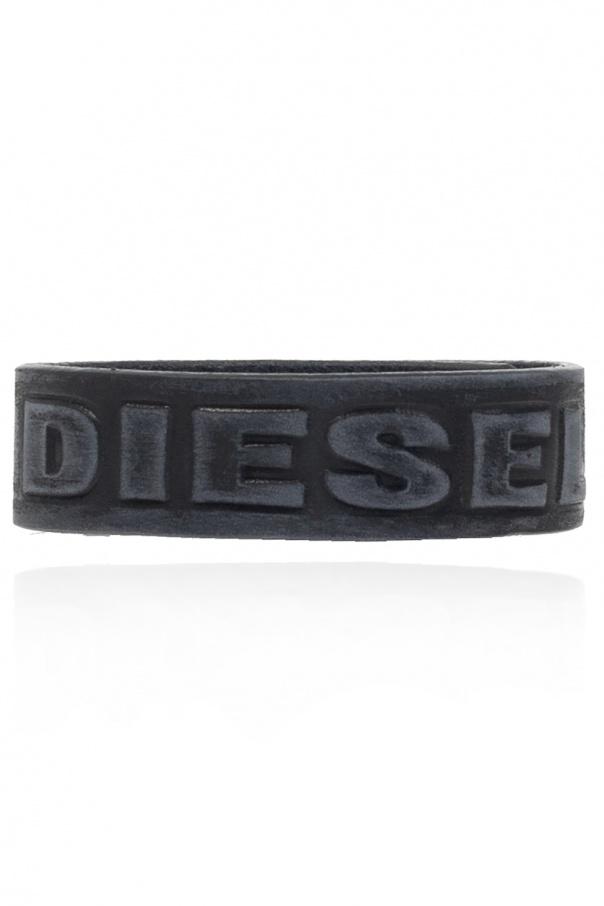 Diesel Skórzana bransoleta