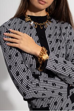 Necklace with logo od Moschino