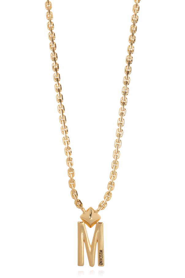 Moschino Necklace with logo
