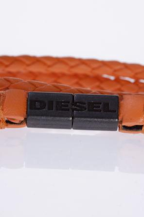 Double-wrap braided bracelet od Diesel