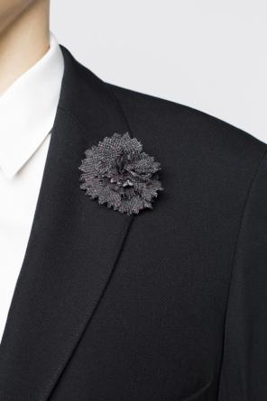 Flower-shaped pin od Lanvin