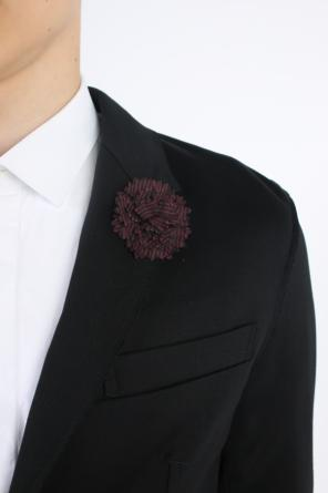 Embellished copper pin od Lanvin