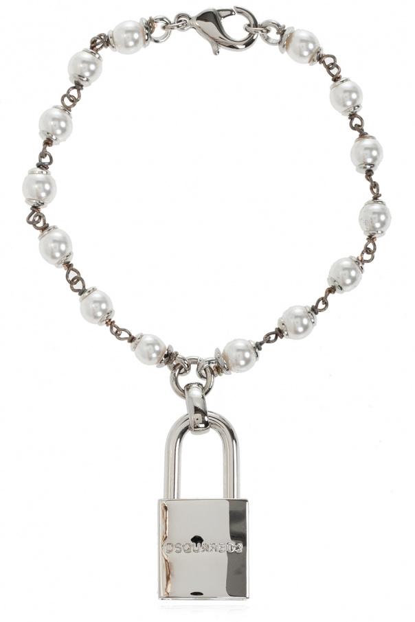 Dsquared2 Glass pearl bracelet