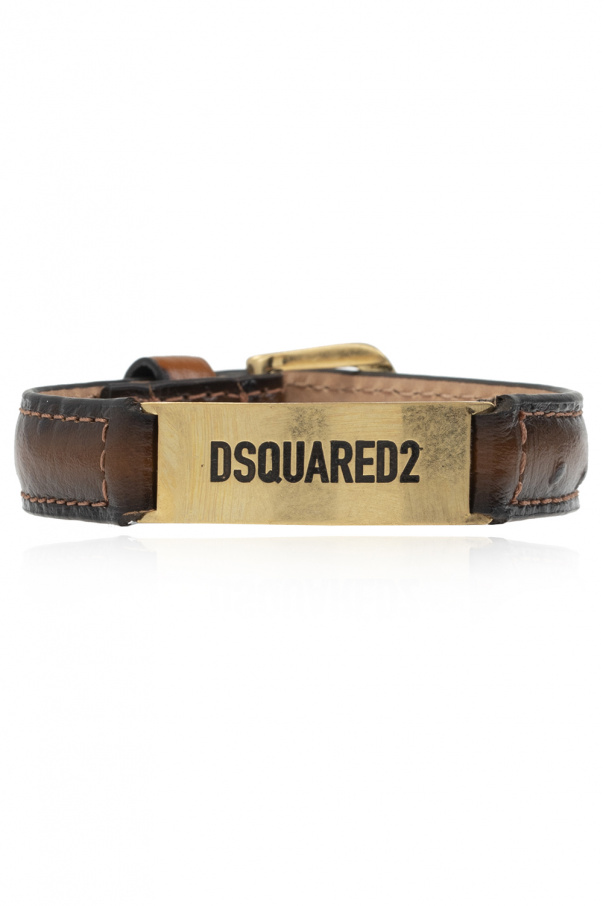 Dsquared2 皮革质手镯