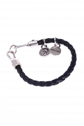 Braided bracelet with charms od Diesel