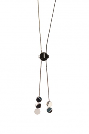 Brass necklace with charms od Lanvin