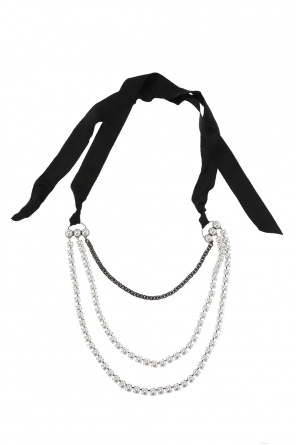 Embellished necklace od Lanvin