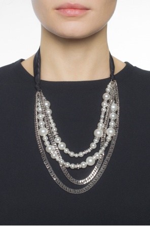Necklace with glass pearls od Lanvin