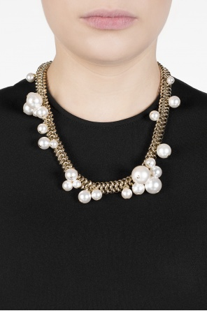 Glass pearls necklace od Lanvin