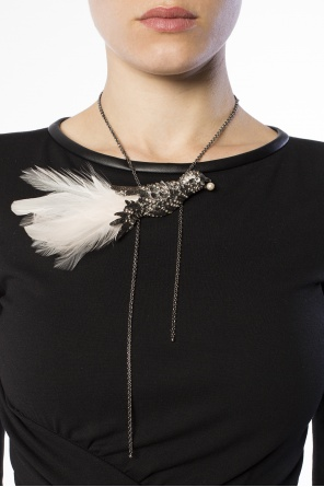 Bird charm necklace od Lanvin