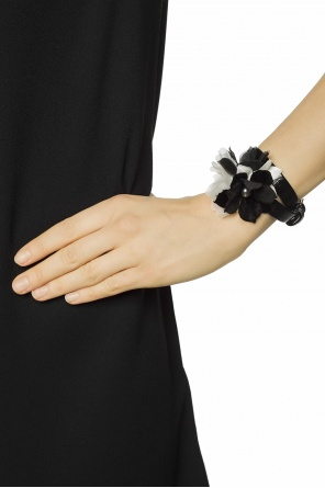 Bracelet with silk flower od Lanvin