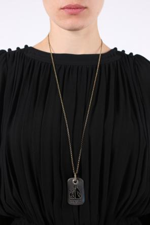 Dog tag necklace od Lanvin