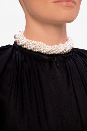 Embellished necklace od Lanvin