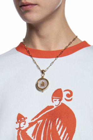 Brass necklace od Lanvin