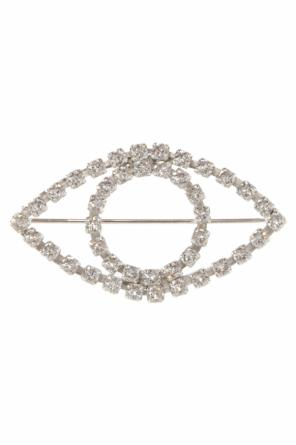 Eye-shaped brooch od Isabel Marant