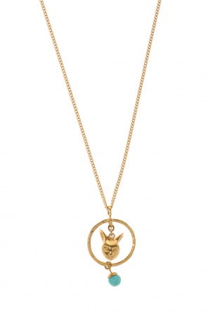 Necklace with cat head motif od Givenchy