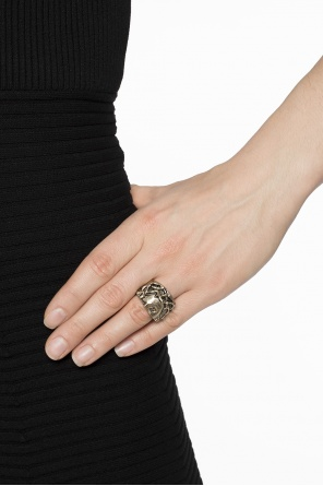 Religious motif ring od Givenchy
