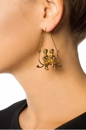 Brass earrings od Givenchy
