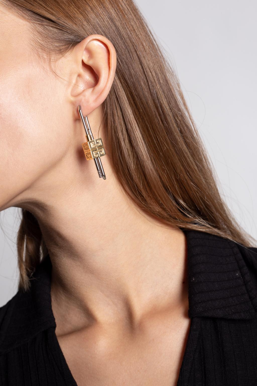 Givenchy Asymmetrical earrings